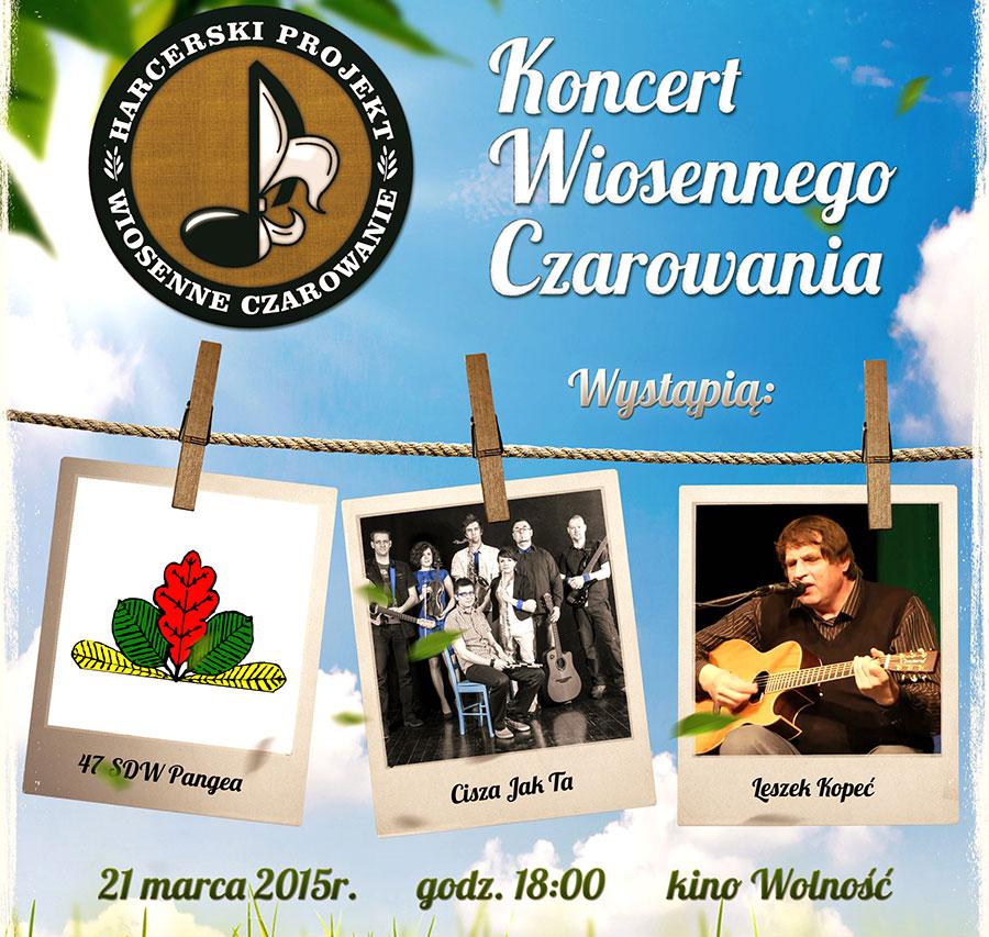 pierwszy koncert Wiosenne Czarowania